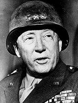 Roger-Viollet | 373153 | George Patton (1885-1945), American General, 1945. | © Roger-Viollet / Roger-Viollet