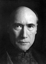 Roger-Viollet | 385765 | André Gide (1869-1951), French writer. France, about 1920. | © Henri Martinie / Roger-Viollet