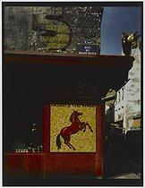 Roger-Viollet | 389081 | Horse butcher's shop at the corner of the rue du Roi de Sicile, 15 rue Vieille-du-Temple. Paris (IVth arrondissement), 1980. Photograph by Felipe Ferré. Paris, musée Carnavalet. | © Felipe Ferré / Musée Carnavalet / Roger-Viollet