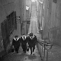 Roger-Viollet | 389776 | Sailors on land. France, circa 1935. | © Gaston Paris / Roger-Viollet
