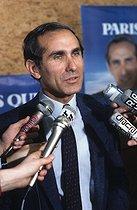 Roger-Viollet   390569   Paul Quilès (born in 1942), French politician, 1983.   © Jean-Pierre Couderc / Roger-Viollet