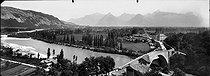 Roger-Viollet | 391297 | Pont-de-Claix (Isère).Around 1900. | © Léon & Lévy / Roger-Viollet