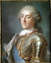 Roger-Viollet | 392599 |  Louis XV (1710-1774), king of France . Pastel, French school, XVIIIth century. Musée de Versailles. | © Roger-Viollet / Roger-Viollet