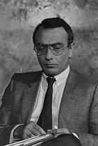 Roger-Viollet | 400033 | Yves Mourousi (1942-1998), French journalist. | © Jacques Cuinières / Roger-Viollet
