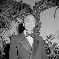 Roger-Viollet | 414017 | George Balanchine (1904-1983) Russian-born American dancer and choreographer. May 1952. | © Boris Lipnitzki / Roger-Viollet