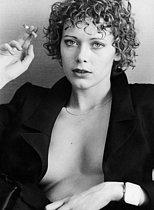 Roger-Viollet   416607   Sylvia Kristel (born in 1952), Dutch actress and model, on December 20, 1974.   © Jean-Régis Roustan / Roger-Viollet