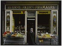 Roger-Viollet | 426555 | Dairy shop, 6 rue du Pont Louis-Philippe. Paris (IVth arrondissement), 1981. Photograph by Felipe Ferré (born in 1934). Paris, musée Carnavalet. | © Felipe Ferré / Musée Carnavalet / Roger-Viollet