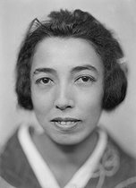 Roger-Viollet | 428118 | Kikou Yamata (1897-1975), Japanese journalist and woman of letters. France, around 1930. | © Henri Martinie / Roger-Viollet
