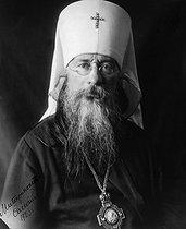 Roger-Viollet | 429519 | His Grace Euloge (dead in 1946), metropolitan of Petrograd in 1922, head of Russian churchs in Occidental Europe. | © Pierre Choumoff / Roger-Viollet