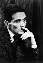 Roger-Viollet   430434   Pier Paolo Pasolini (1922-1975), Italian writer and director, 1965.   © Jean-Régis Roustan / Roger-Viollet
