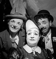 Roger-Viollet | 430705 | Circus : clowns. France, circa 1935. | © Gaston Paris / Roger-Viollet