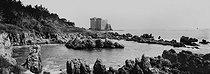 Roger-Viollet | 432738 | The monastery citadel. Saint-Honorat (Lérins Islands, France), circa 1900. | © Léon & Lévy / Roger-Viollet