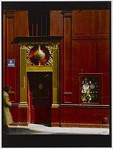 Roger-Viollet | 434178 |  A la Coquille d'or , gift shop, 42 rue de la Sourdière (former cabaret). Paris (Ist arrondissement), 1981. Photograph by Felipe Ferré. Paris, musée Carnavalet. | © Felipe Ferré / Musée Carnavalet / Roger-Viollet