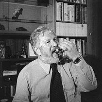 Roger-Viollet | 435168 | Peter Ustinov (1921-2004), English actor, writer and director. France, June 1979. | © Kathleen Blumenfeld / Roger-Viollet