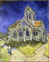 Roger-Viollet | 443045 | L'Eglise d'Auvers-sur-Oise | © Roger-Viollet / Roger-Viollet