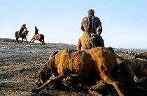Roger-Viollet | 488595 | La charge de Two Moon ; La fin d'un parcours (série La bataille de Little Bighorn) | © Béatrice Soulé / Roger-Viollet
