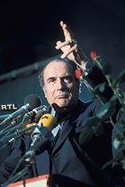 Roger-Viollet | 493446 | François Mitterrand (1916-1996), French politician. France, 1976. | © Jean-Pierre Couderc / Roger-Viollet