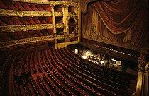 Roger-Viollet | 498517 | Interior of the Opéra Garnier. Paris, 1983. | © Jean-Pierre Couderc / Roger-Viollet