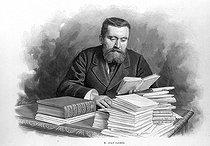 Roger-Viollet | 510175 | Jean Jaurès (1859-1914), French politician. Engraving. France, 1900. | © Roger-Viollet / Roger-Viollet
