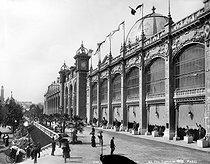 Roger-Viollet | 517653 | Paris, Exposition Universelle de 1889. Le Palais des Beaux-Arts. | © Neurdein / Roger-Viollet