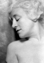 Roger-Viollet | 522667 | Françoise Rosay (1891-1974), French actress. France, 1936. | © Laure Albin Guillot / Roger-Viollet