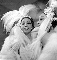 Roger-Viollet   526791   Josephine Baker   © Gaston Paris / Roger-Viollet