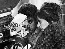Roger-Viollet   540700   Agnès Varda (1928-2019), French director.   © Jean-Régis Roustan / Roger-Viollet