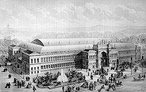 Roger-Viollet | 541912 | Paris. World Fair of 1855. The Palace of the Industry. B.N. | © Roger-Viollet / Roger-Viollet