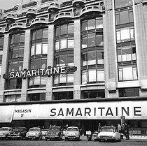 Roger-Viollet | 545031 | Paris Ist district. The department stores of the Samaritaine. September 1959. | © Roger-Viollet / Roger-Viollet