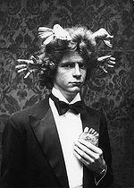 Roger-Viollet | 545834 | François-Marie Banier (born in 1947), French writer and photographer. | © Jack Nisberg / Roger-Viollet