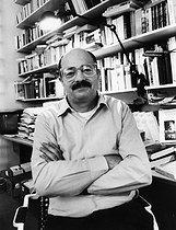 Roger-Viollet | 546579 | Jean-Jacques Pauvert (1926-2014), French publisher. Paris, November-December 1990. | © Bruno de Monès / Roger-Viollet