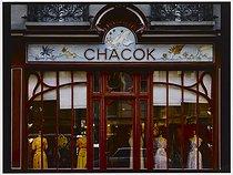 Roger-Viollet | 554711 |  Chacock , fashion shop, 18 rue de Grenelle. Paris (VIIth arrondissement), 1981. Photograph by Felipe Ferré (born in 1934). Paris, musée Carnavalet. | © Felipe Ferré / Musée Carnavalet / Roger-Viollet