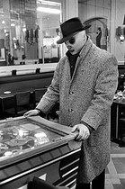 Roger-Viollet | 558884 |  L'Ange blanc , French wrestler. Paris, January 1959. | © Bernard Lipnitzki / Roger-Viollet