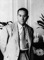 Roger-Viollet | 569448 | Richard Wright (1908-1960), American writer. | © Albert Harlingue / Roger-Viollet