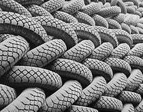 Roger-Viollet   576890   Renault factories. Tires. Boulogne-Billancourt (France), 1954. Photograph by René Giton (known as René-Jacques, 1908-2003). Bibliothèque historique de la Ville de Paris.   © René-Jacques / BHVP / Roger-Viollet