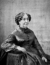Roger-Viollet | 578575 | George Sand (1804-1876), French writer, by Nadar. | © Roger-Viollet / Roger-Viollet