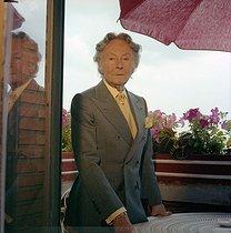 Roger-Viollet | 586346 | Romain de Tirtoff (known as Erté, 1892-1990), Russian-born French artist, July 1979. | © Kathleen Blumenfeld / Roger-Viollet