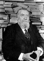 Roger-Viollet | 588948 | Jean Jaurès (1859-1914), French politician and writer, July 1914. | © Albert Harlingue / Roger-Viollet