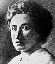 Roger-Viollet | 590272 | Rosa Luxemburg ( 1870-1919 ), German Marxist revolutionary. | © Roger-Viollet / Roger-Viollet