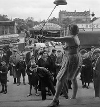 Roger-Viollet | 590969 | Fun fair. France, circa 1935. | © Gaston Paris / Roger-Viollet