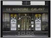 Roger-Viollet | 593354 |  Le Mercure Galant  restaurant, 15 rue des Petits Champs. Paris (IInd arrondissement), 1982. Photograph by Felipe Ferré. Paris, musée Carnavalet. | © Felipe Ferré / Musée Carnavalet / Roger-Viollet