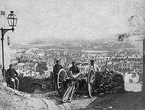 Roger-Viollet | 607228 | Paris Commune (1871). | © BHVP / Roger-Viollet