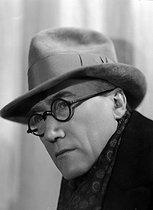 Roger-Viollet | 607728 | André Gide (1869-1951), French writer. | © Henri Martinie / Roger-Viollet