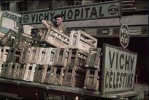 Roger-Viollet | 608163 | World War II. The Halles. Paris, July 1942. Photograph by André Zucca (1897-1973). Bibliothèque historique de la Ville de Paris. | © André Zucca / BHVP / Roger-Viollet