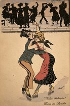 Roger-Viollet | 612473 | SWAYING WALTZ, DANCE OF THE APACHES | © Roger-Viollet / Roger-Viollet