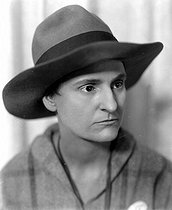 Roger-Viollet | 616458 | Sylvia Beach (1887-1962), American publisher and bookseller. | © Henri Martinie / Roger-Viollet