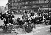 Roger-Viollet | 617177 | Paris - Lily of the valley sellers | © Maurice-Louis Branger / Roger-Viollet