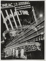Roger-Viollet | 620096 |  La France travaille . Photographie positive noir et blanc de François Kollar (1904-1979), 1931-1934. Paris, Bibliothèque Forney. | © François Kollar / Bibliothèque Forney / Roger-Viollet