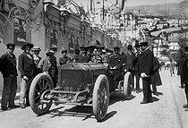 Roger-Viollet | 621847 | Monaco - Richard-Brasier car | © Maurice-Louis Branger / Roger-Viollet