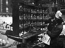 Roger-Viollet | 624205 | Bird seller on the bank. Paris, October 1943. | © LAPI / Roger-Viollet
